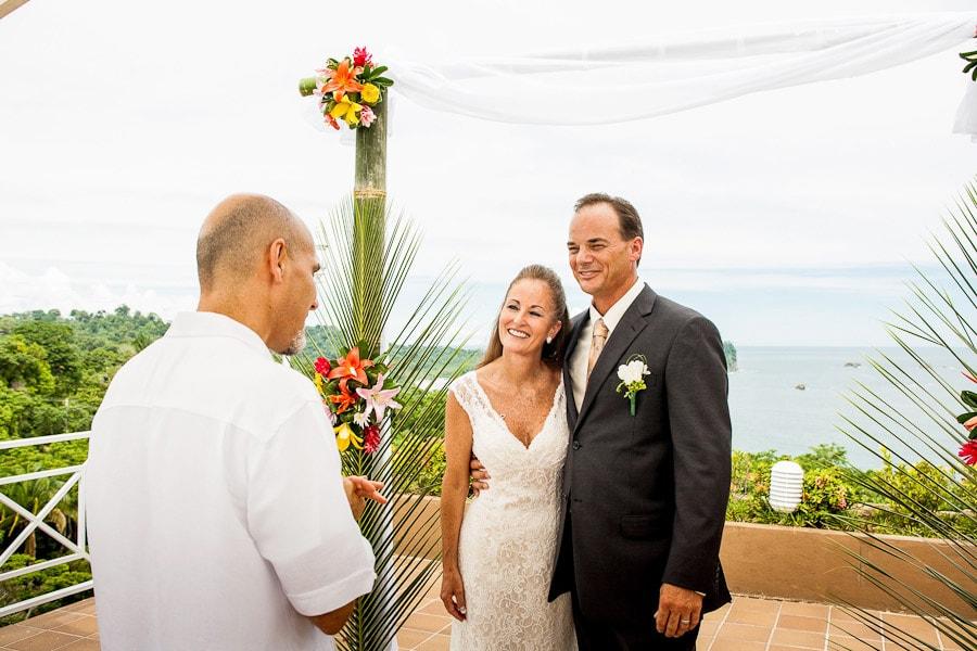 Wedding on Sky Deck at La Mansion Inn