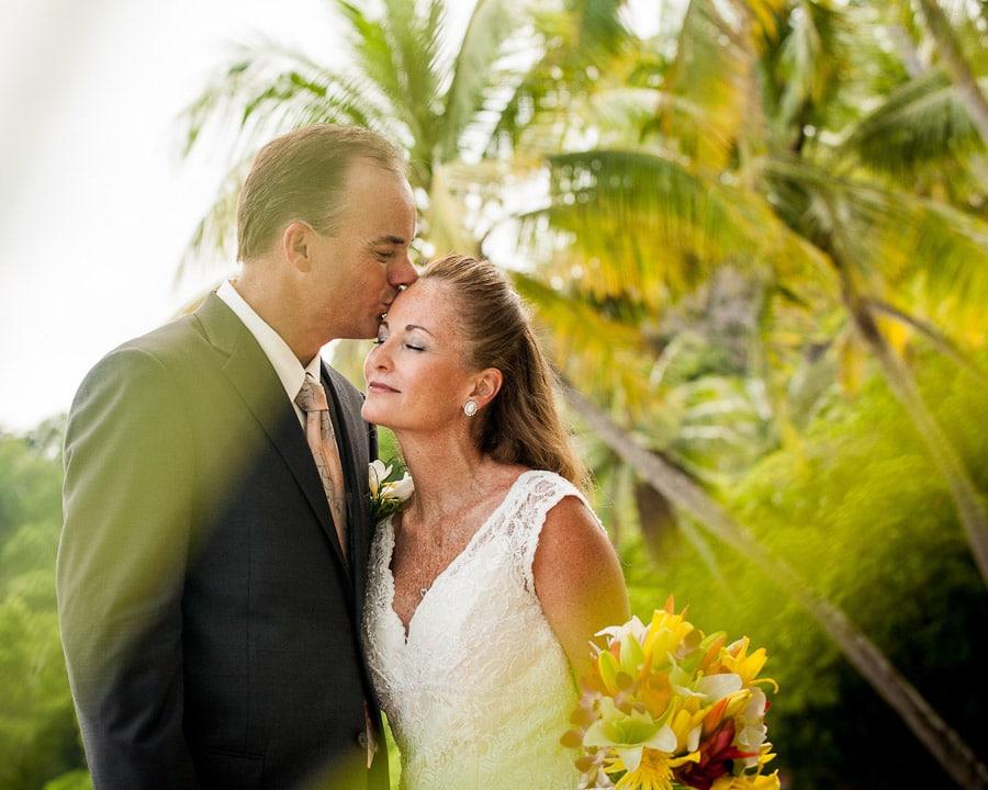 La Mansion Wedding on beach.