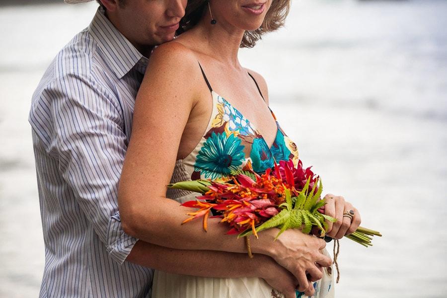 Wedding on beach.