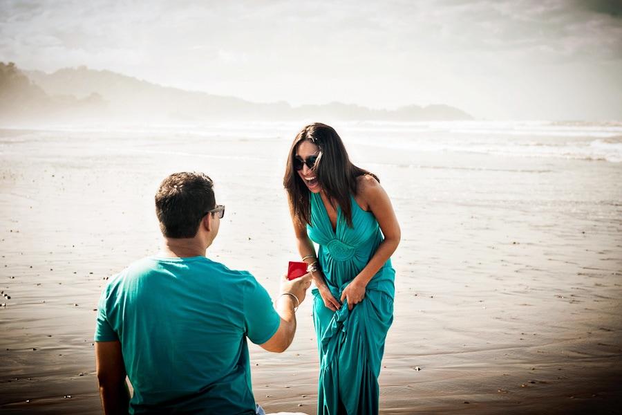 Beach Proposal in Costa Rica.