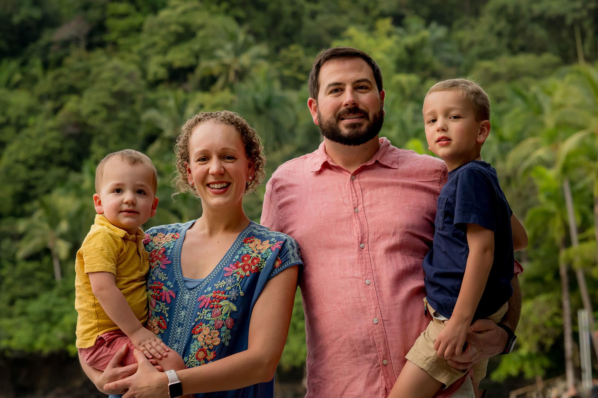 tulemar family photographer costa rica