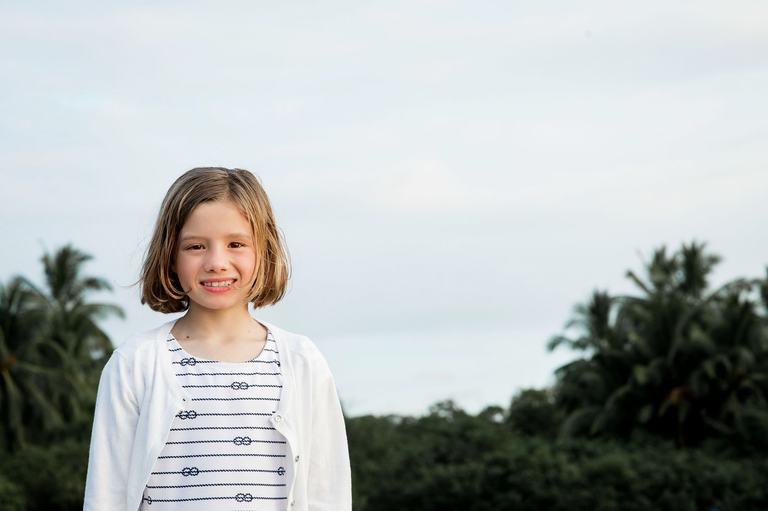 photo of girl in costa rica