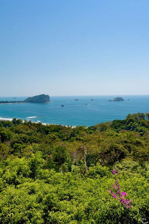 View of Manuel Antonio in Costa Rica