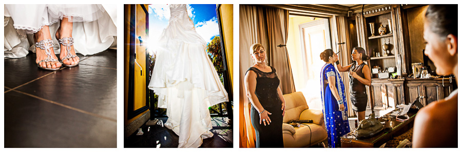 Images from holiday wedding in Villas Caletas