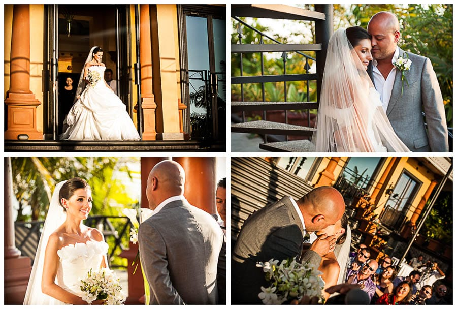 Photos from wedding at Zephyr Palace, Costa Rica