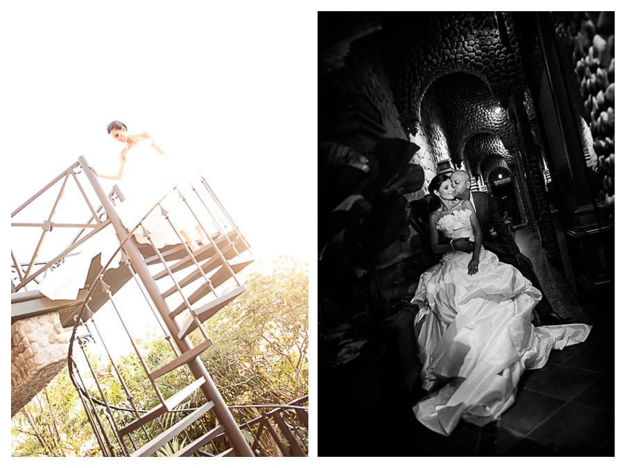 Portrait session from wedding in Villas Caletas.