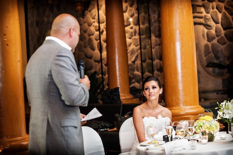 Speeches at costa rica wedding.