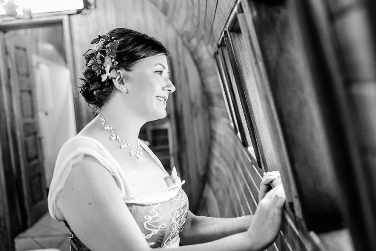 Bride in Manuel Antonio