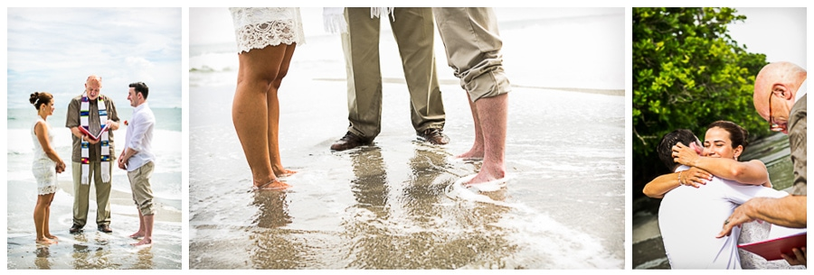 High tides made wedding waves in Costa Rica