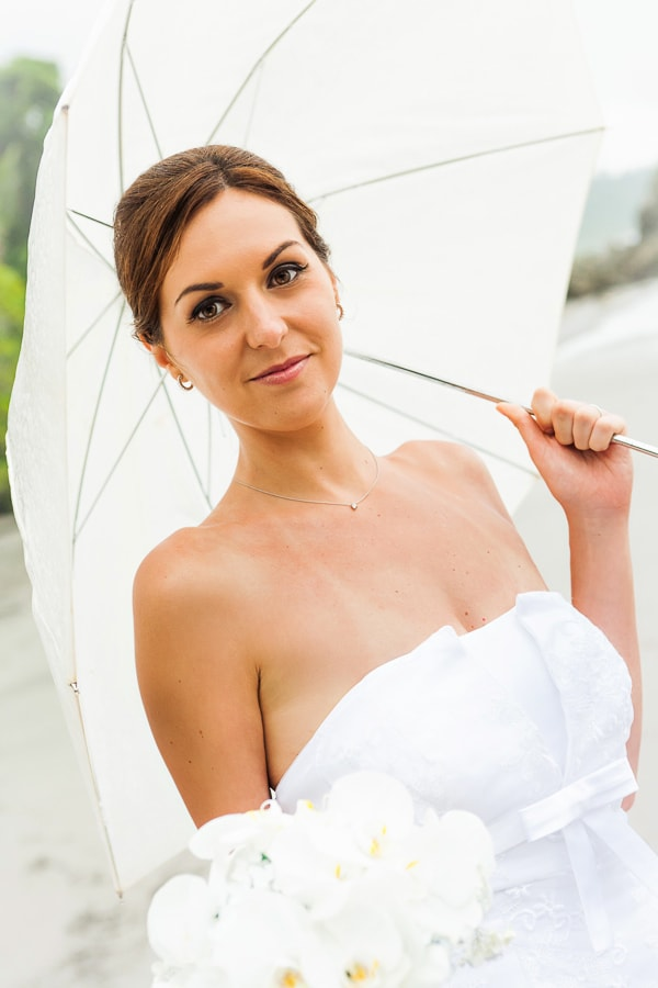 Photo of bride in Manuel Antonio
