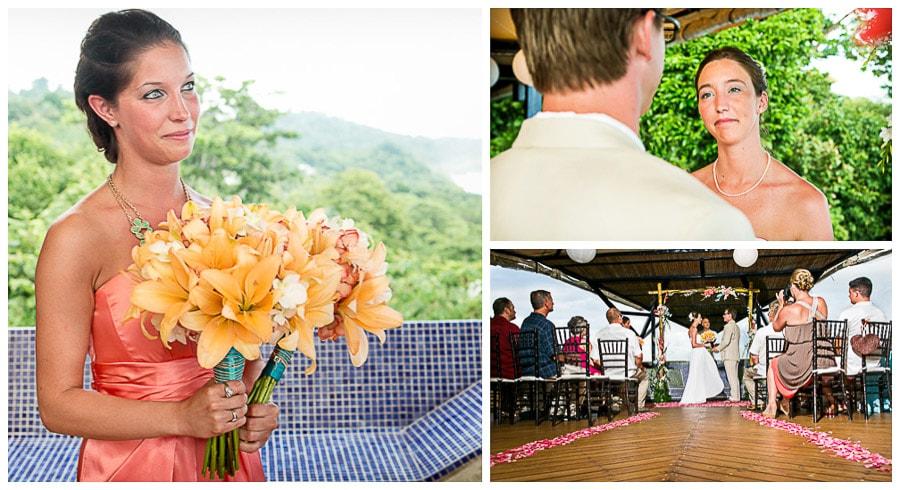 Costa Rica wedding photography.