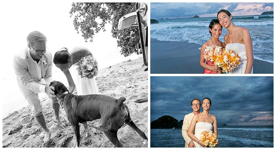 Costa Rica wedding photographer.