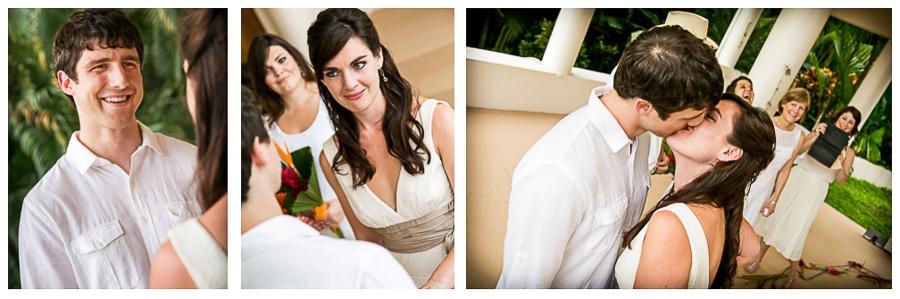 Unique wedding photos for a unique couple