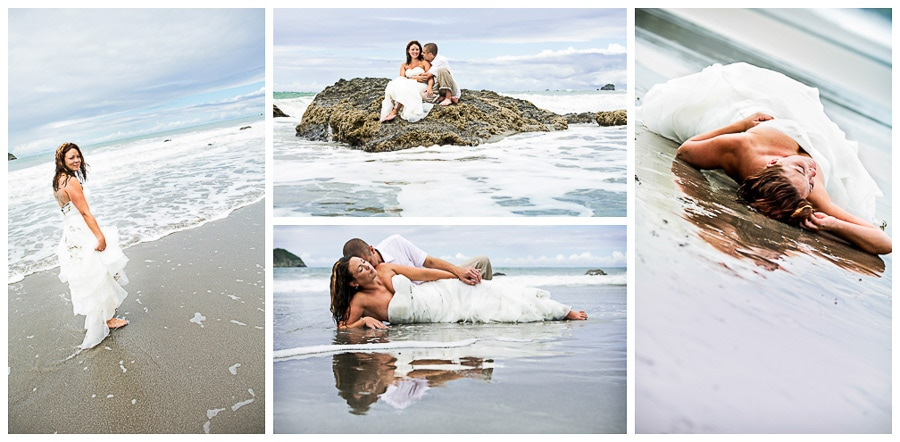 Costa Verde Beach Wedding