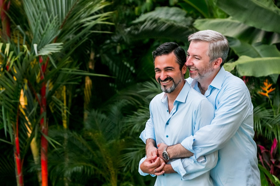 Casa Romantica celebrates same-sex wedding in Manuel Antonio