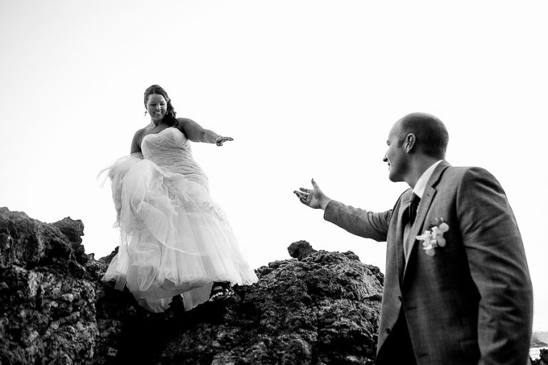 Costa Rica wedding photography in Manuel Antonio.