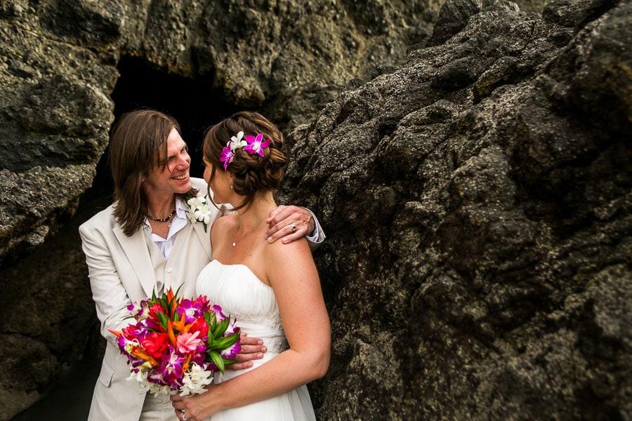 Playitas wedding, Costa Rica