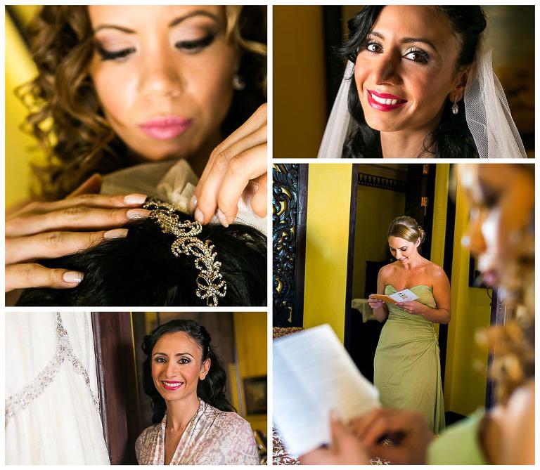 Wedding photography in Villas Caletas