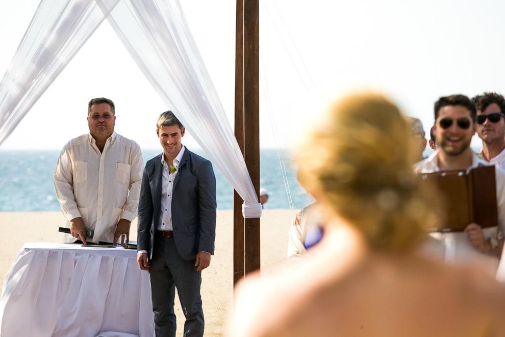 Beach wedding in Costa Rica.