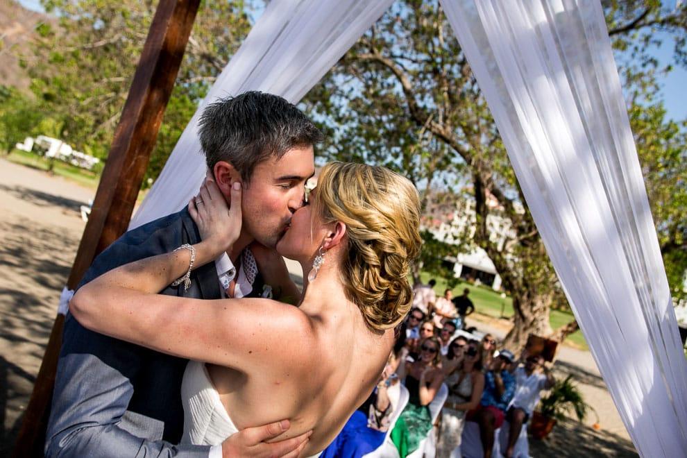 First Kiss at Riu