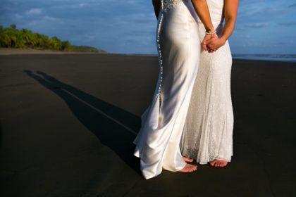 Same sex wedding photographer in Costa Rica.
