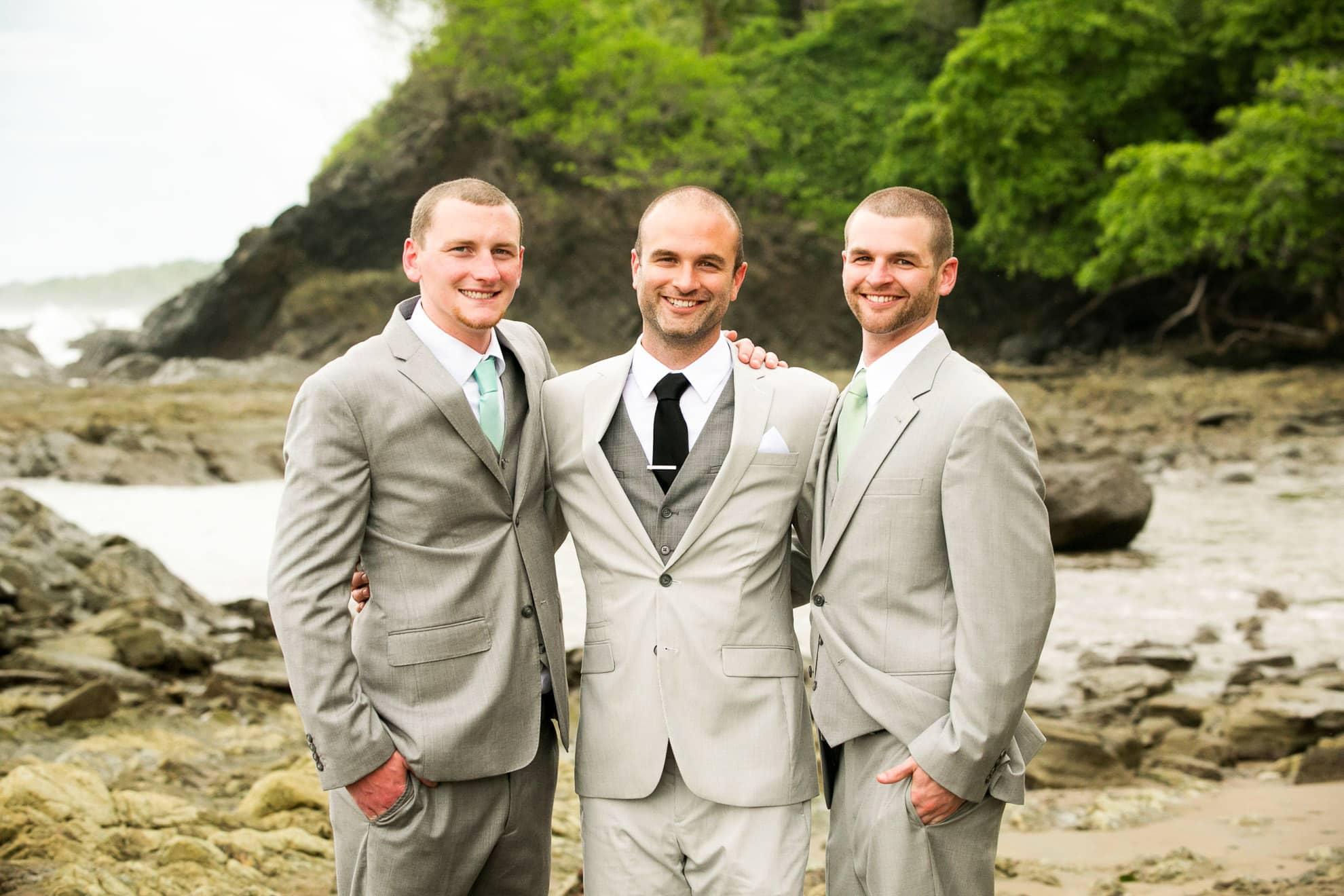 Costa Rica wedding at Dominical Beach, Costa Rica