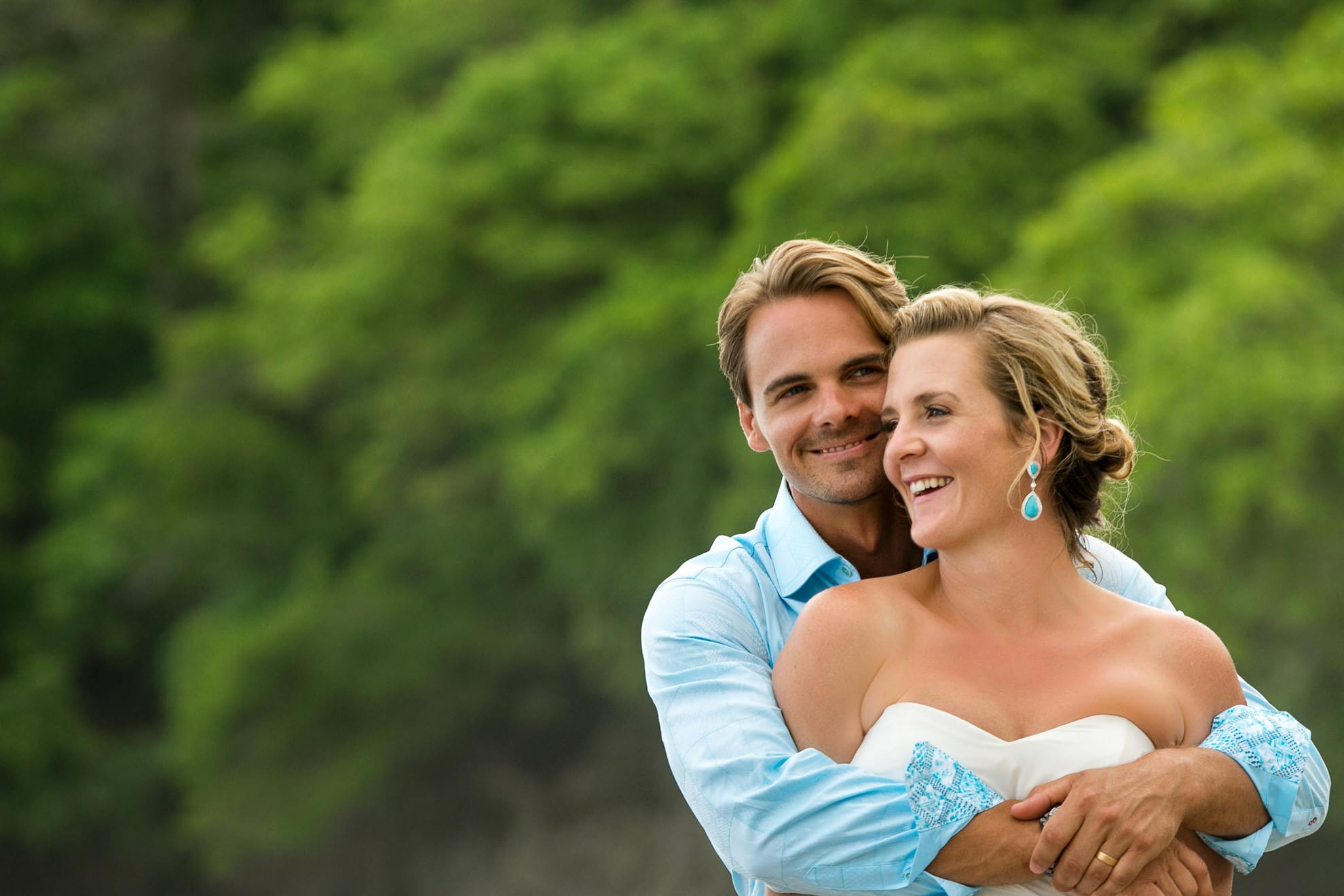 punto de vista wedding photographer in costa rica
