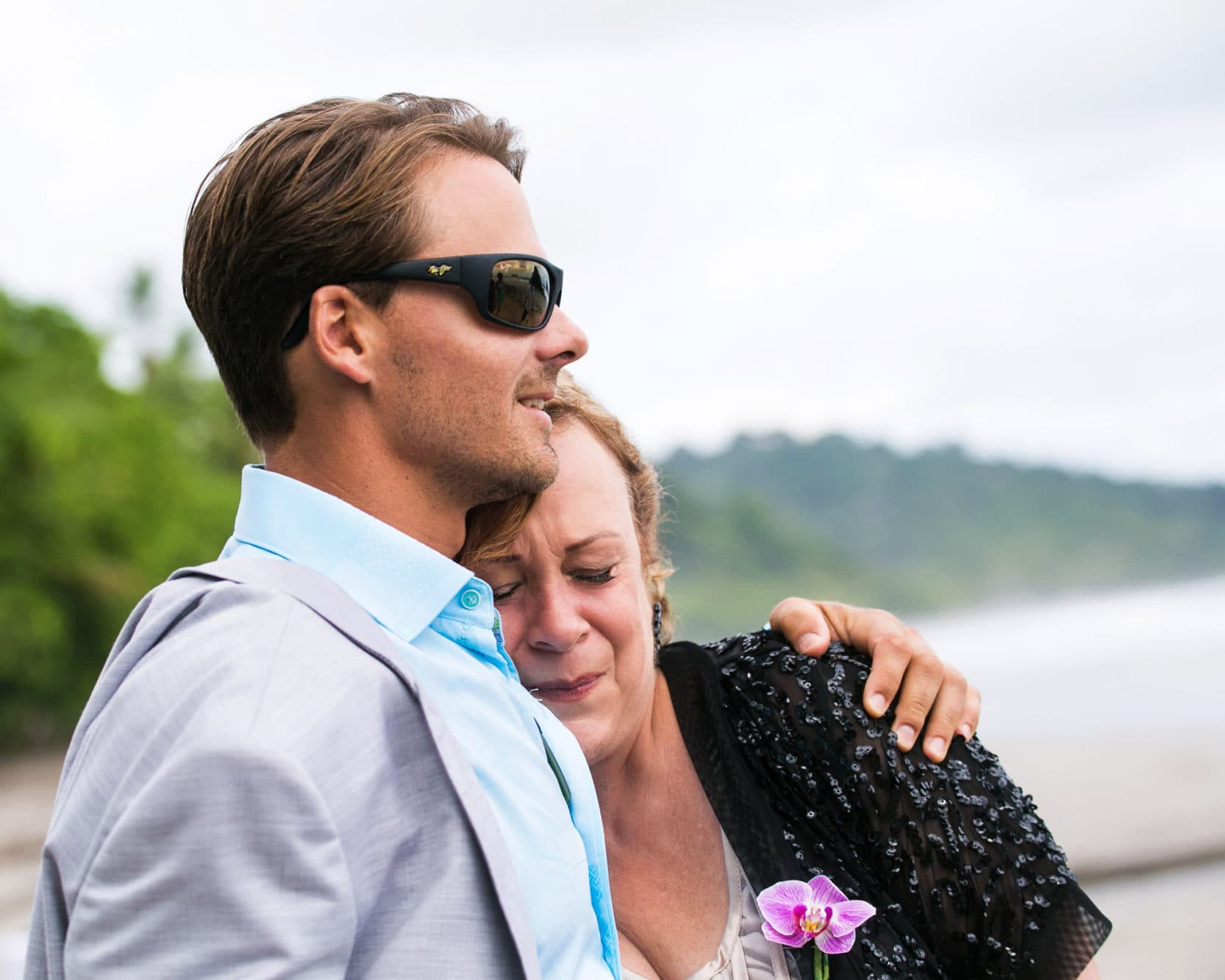 groom with mother in law