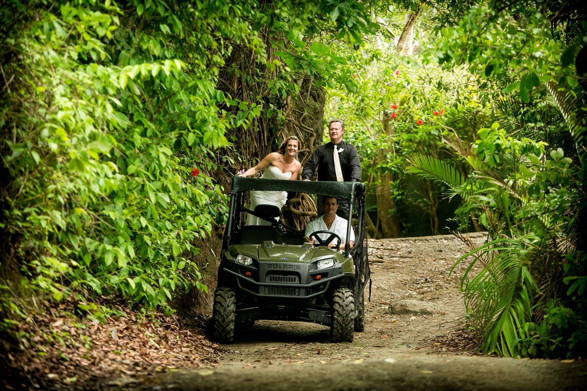 polaris at destination wedding in Costa Rica