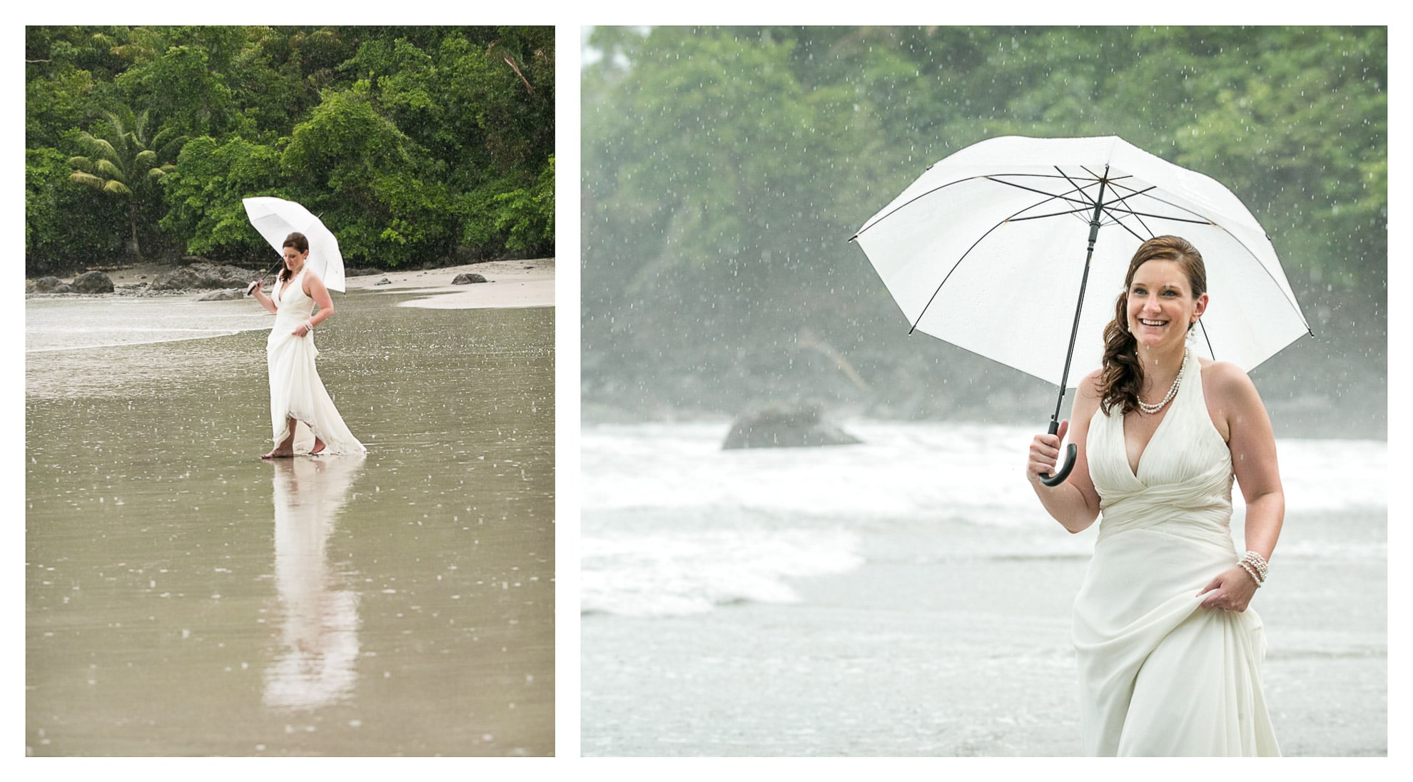 Even when it rains, Costa Rica is still the best place to elope!