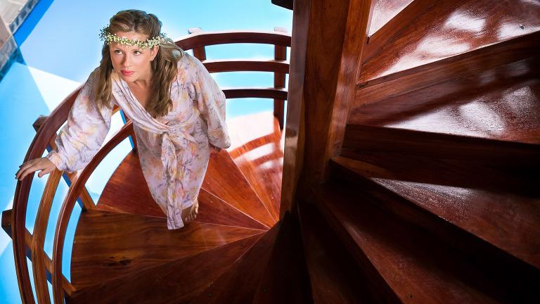 Stairway at Casa Mindugur