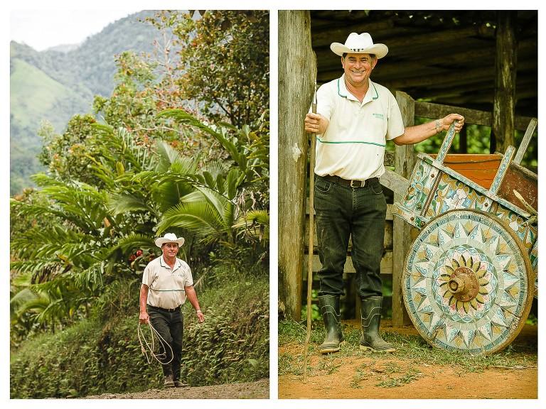 Cowboy at Santa Juana Lodge