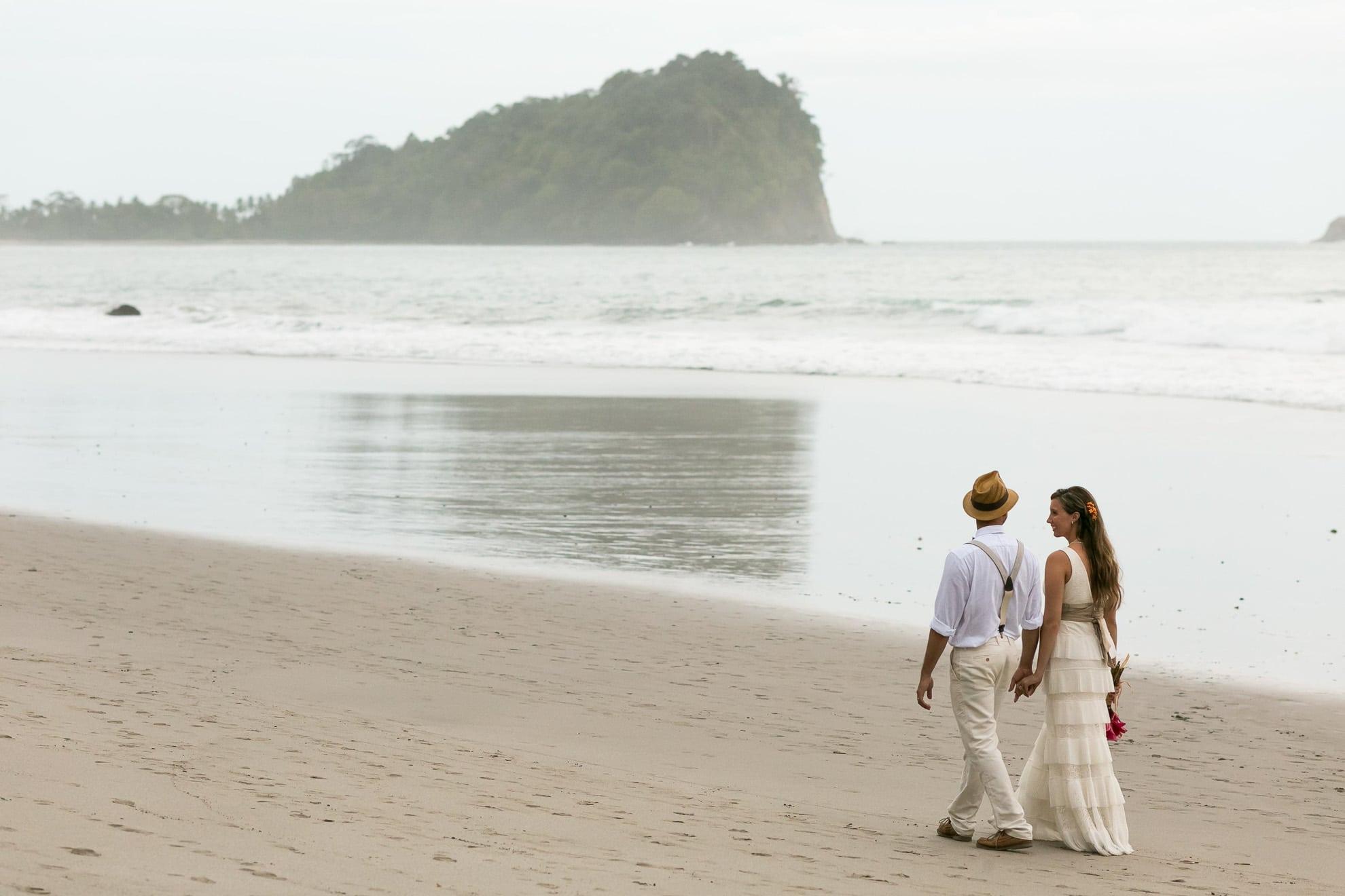 Beach Wedding in Costa Rica