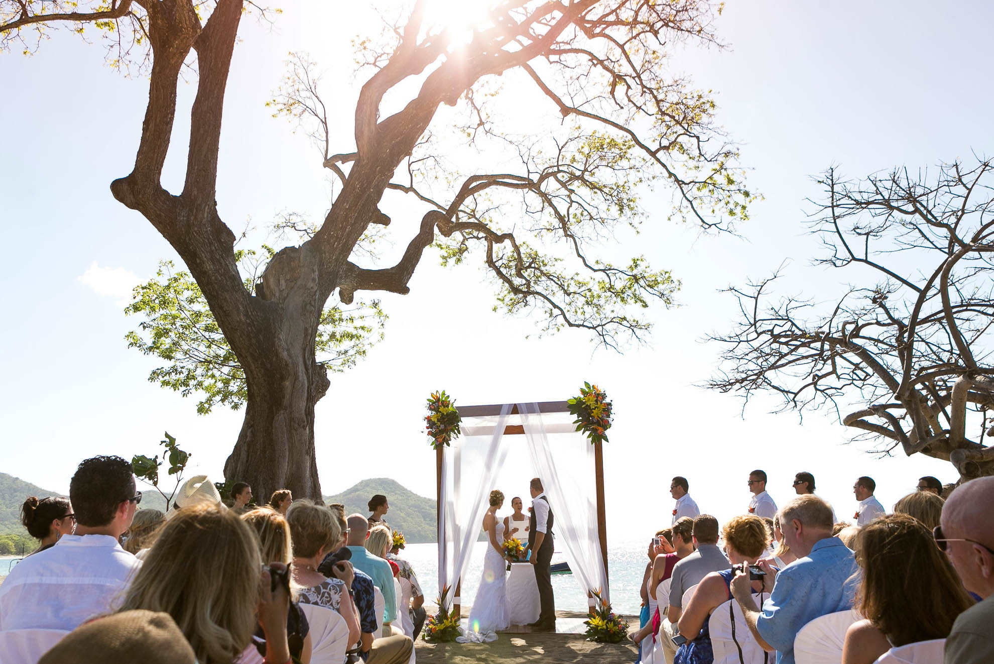 Wedding ceremony in Riu Guanacaste