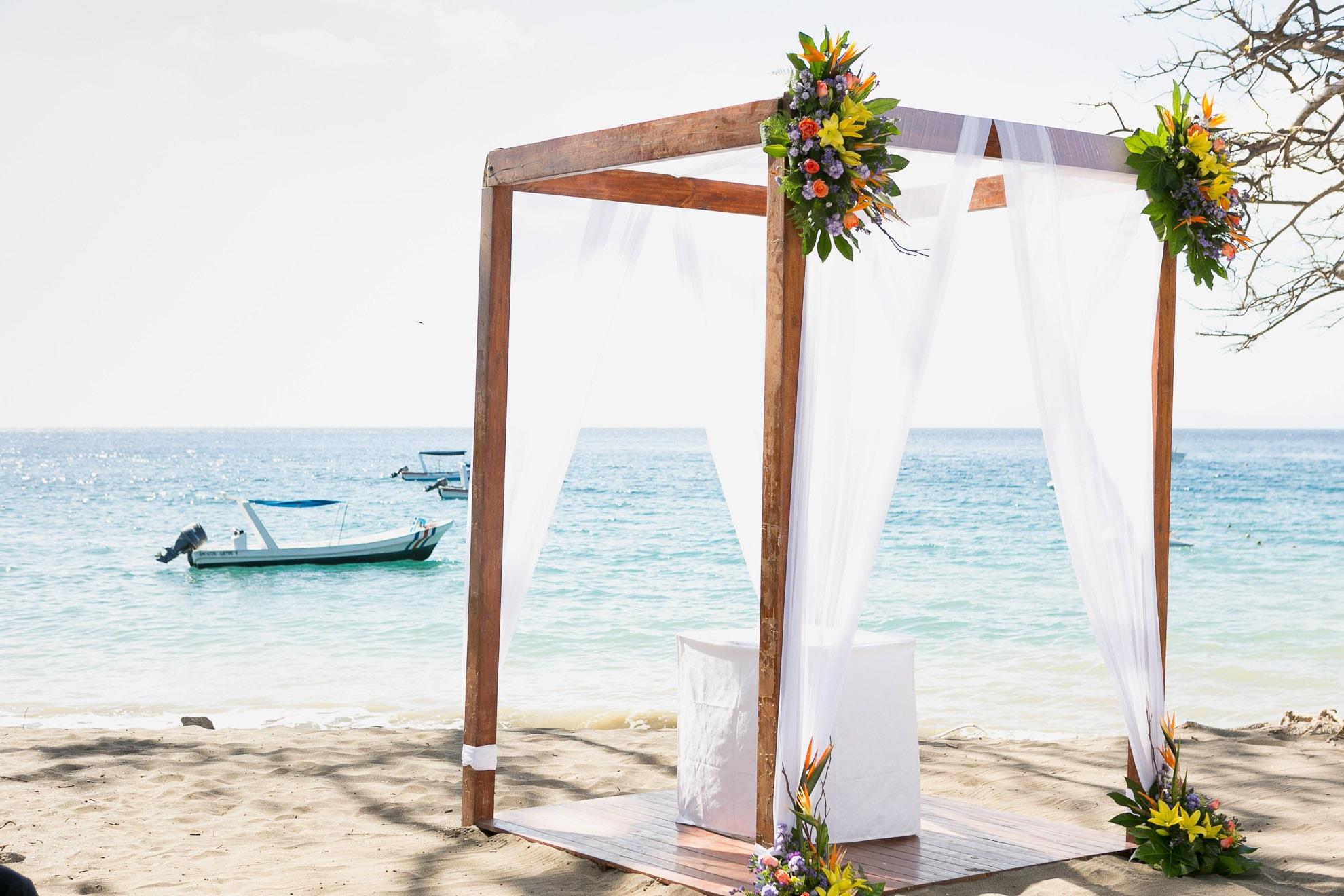 Wedding in Guanacaste Costa Rica