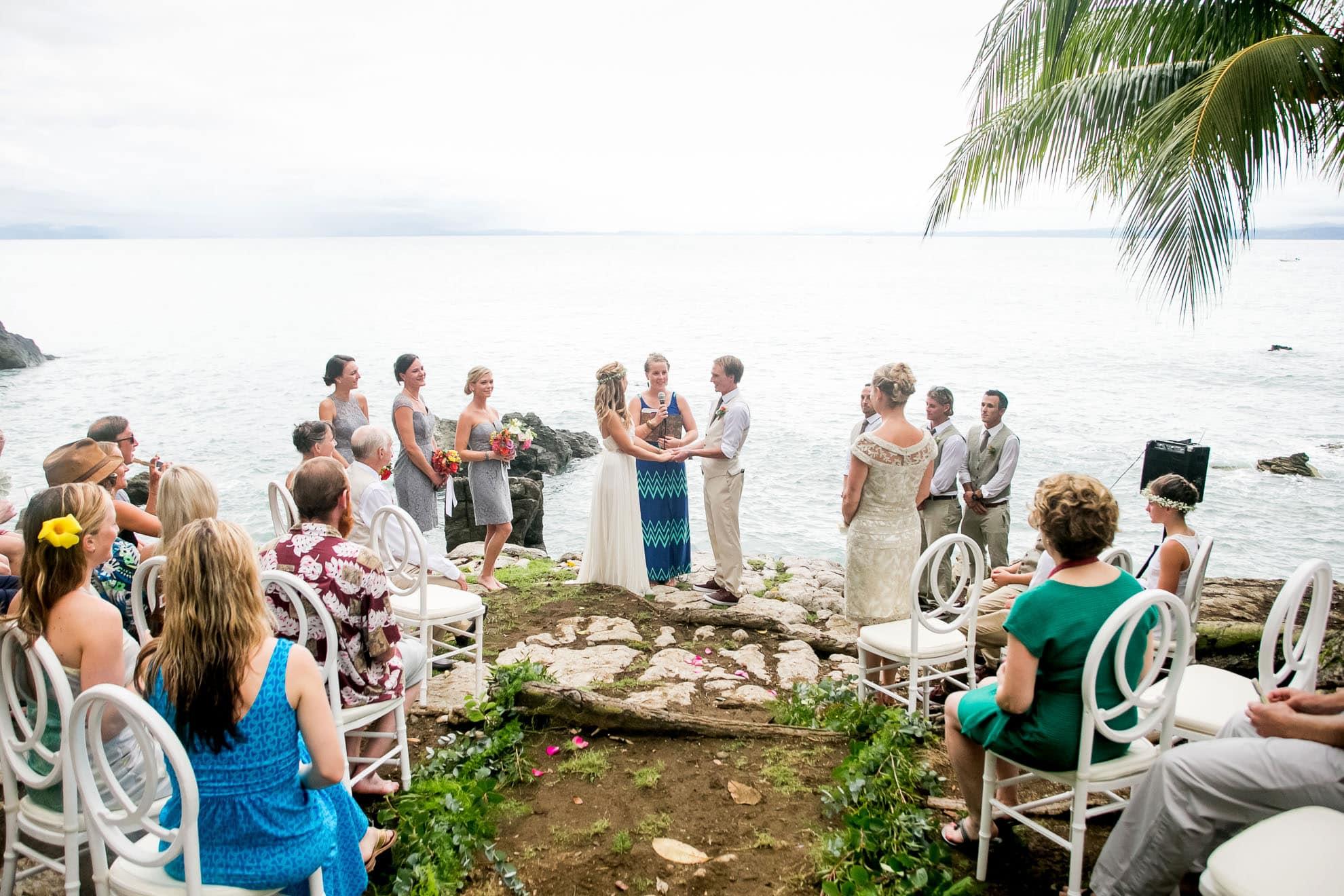 Wedding in Osa Peninsula