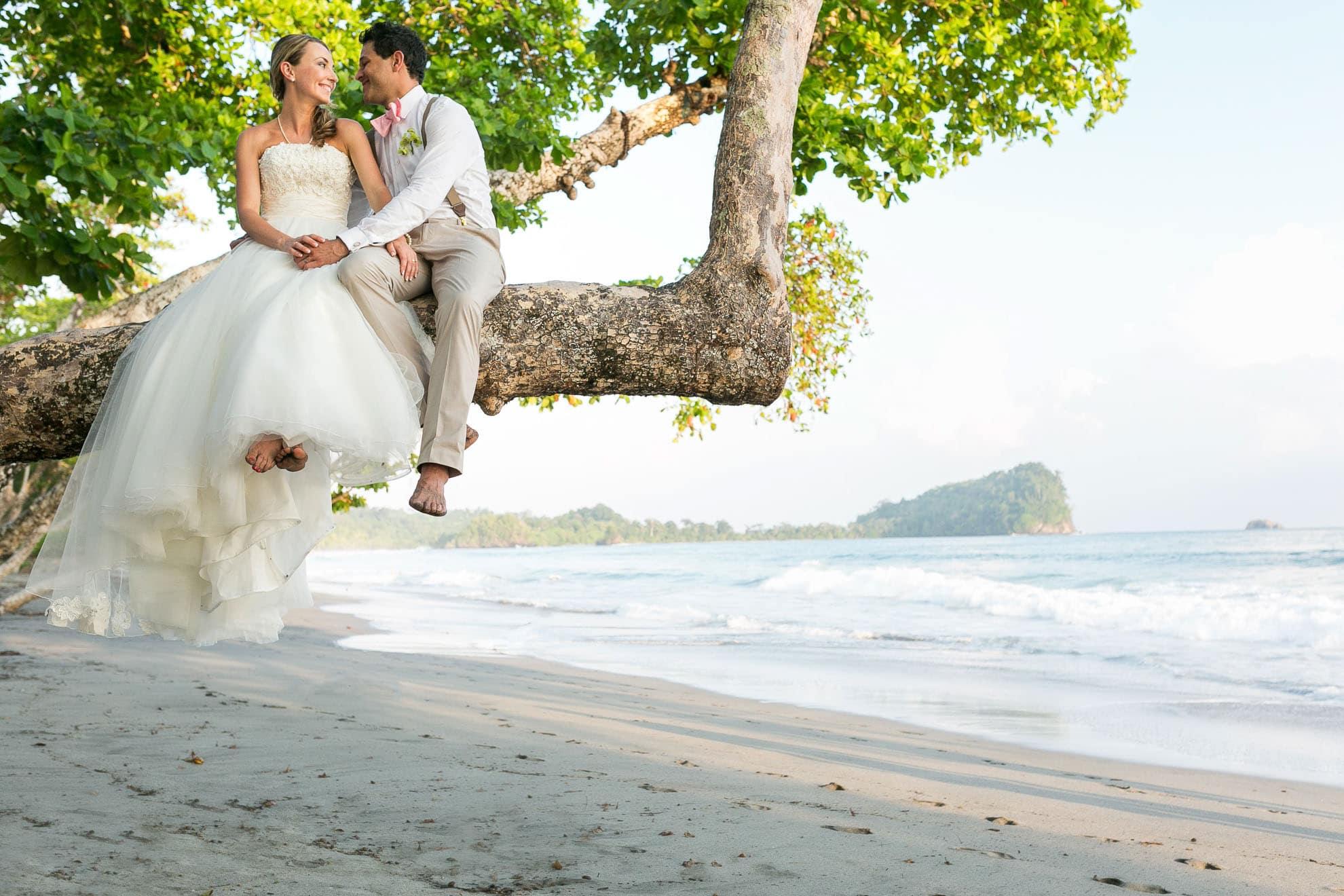 Wedding in Manuel Antonio