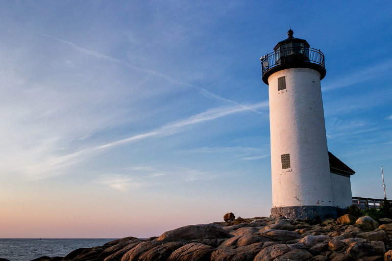 Lighthouse in Gloucester, Mass