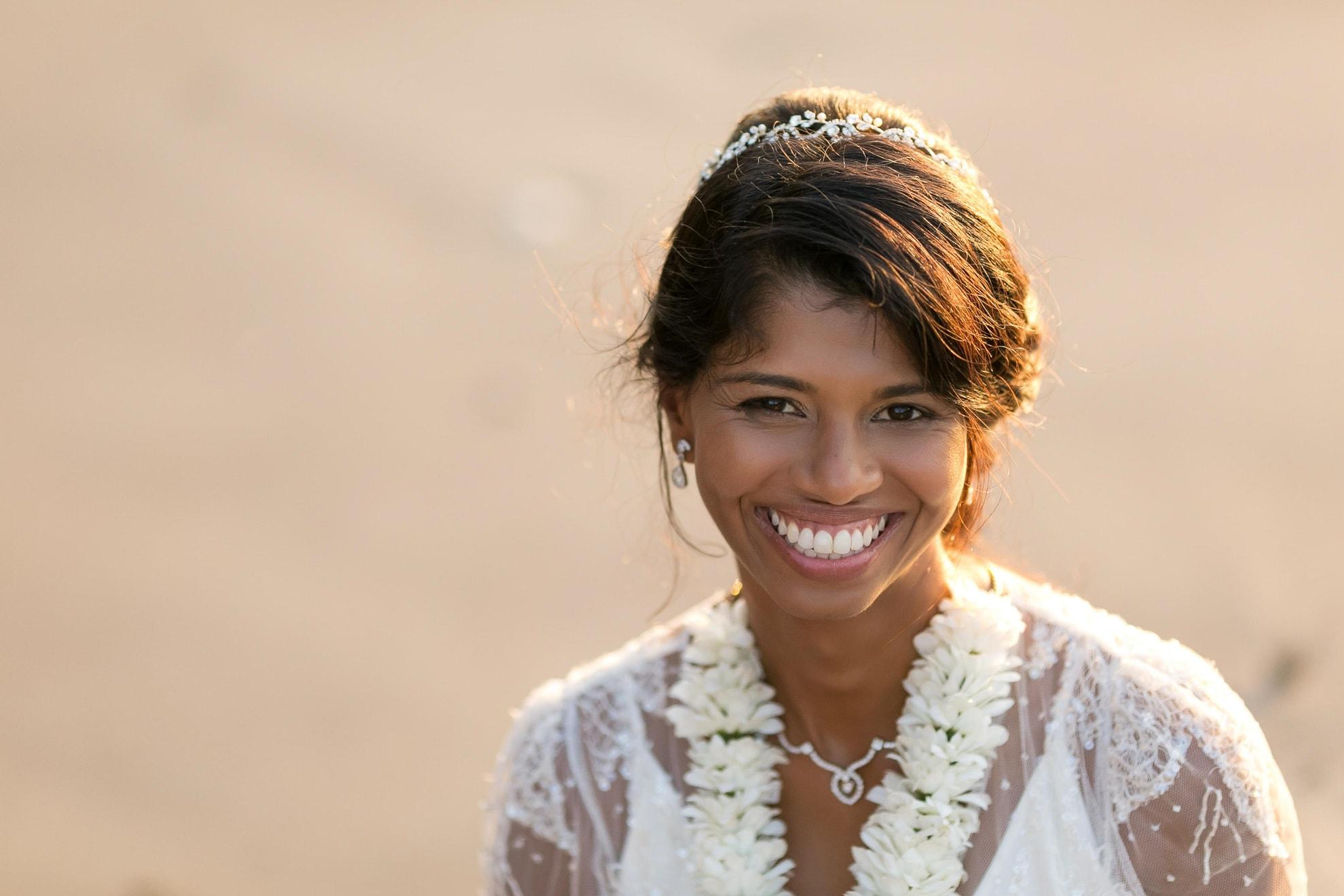 Bridal Portrait in Manuel Antonio