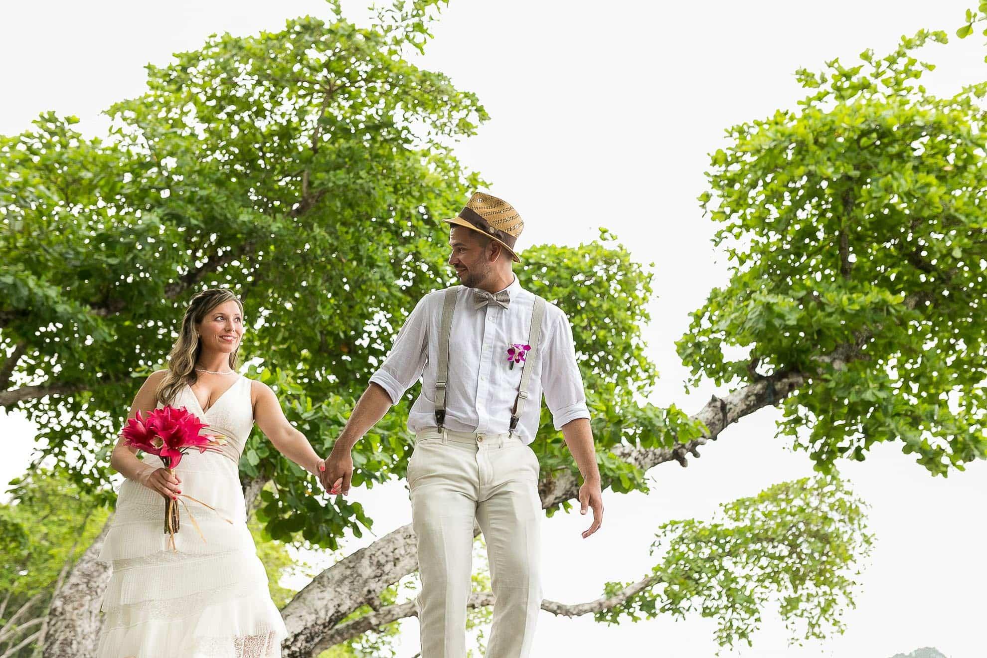 Wedding in Manuel Antonio.