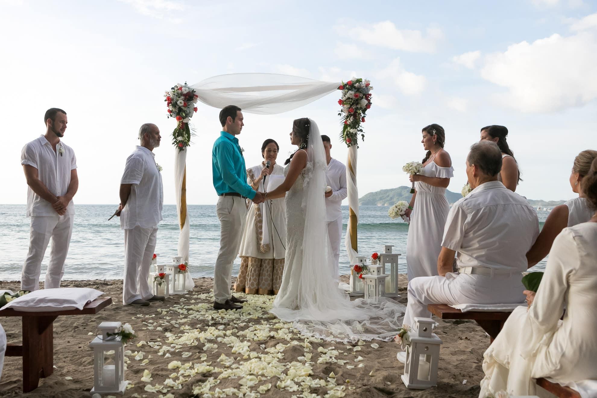 Langosta Beach Club Wedding