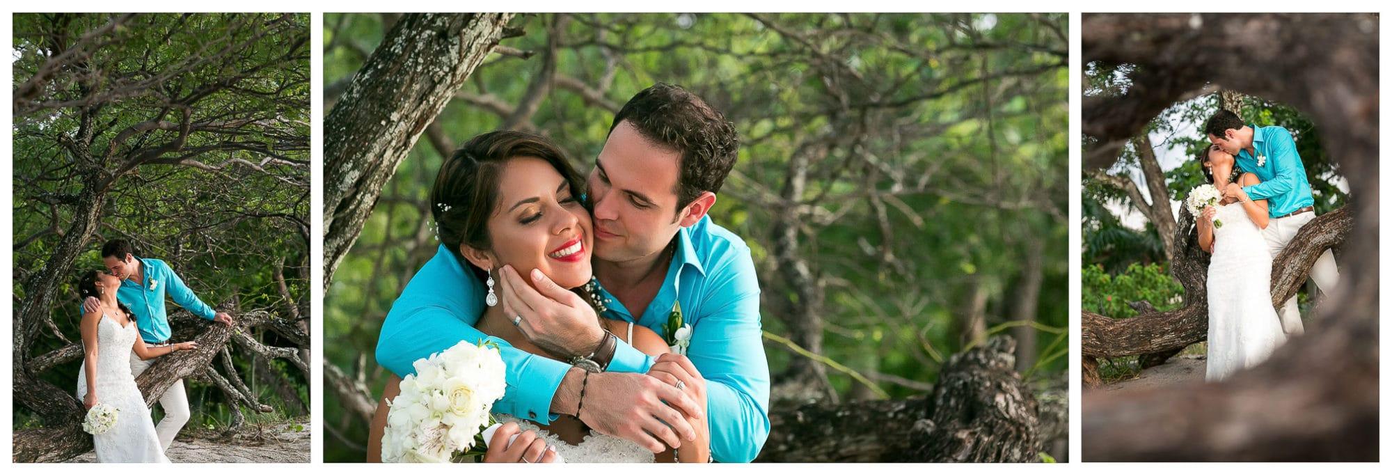 Wedding photography in Costa Rica.