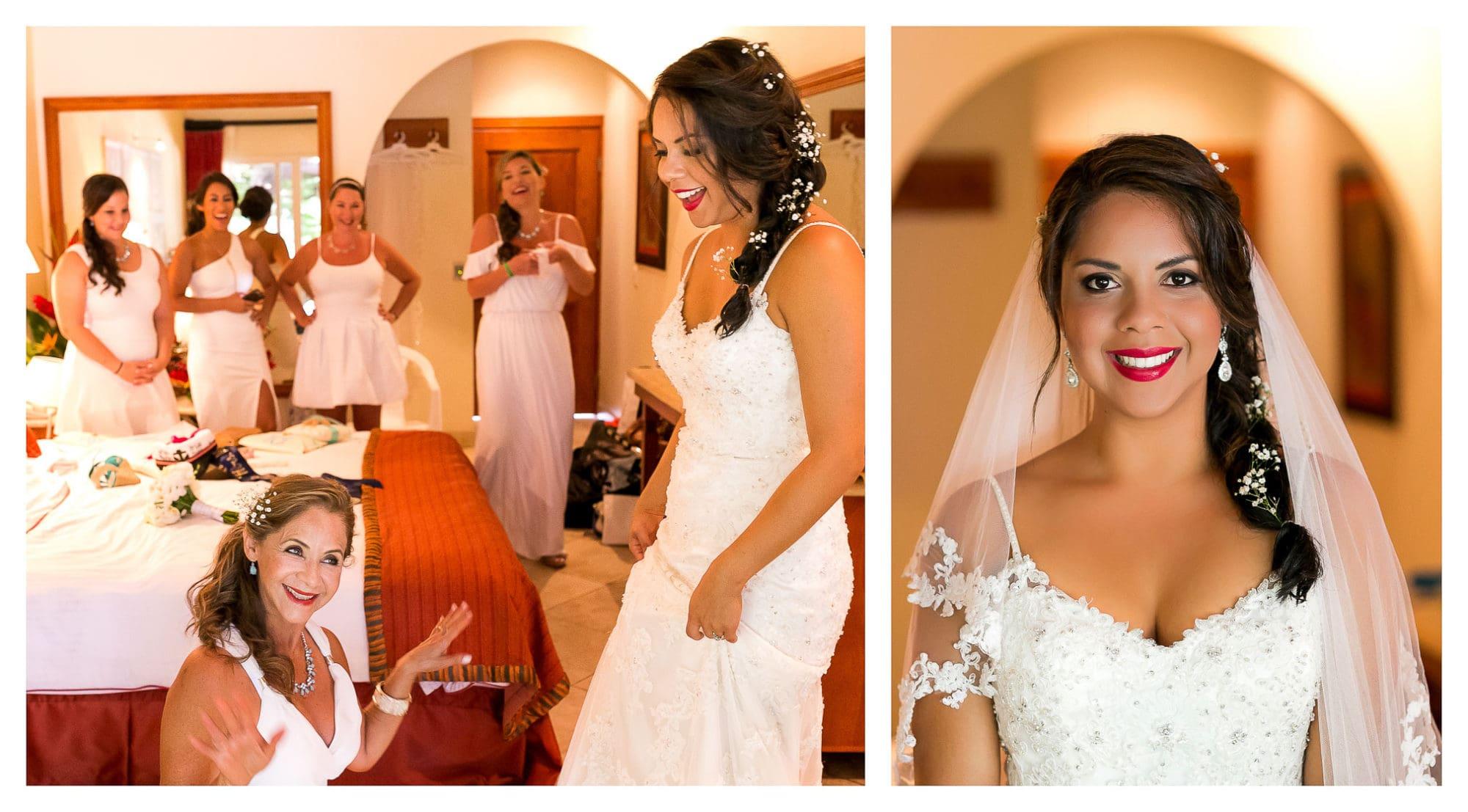 Playa Langosta Wedding