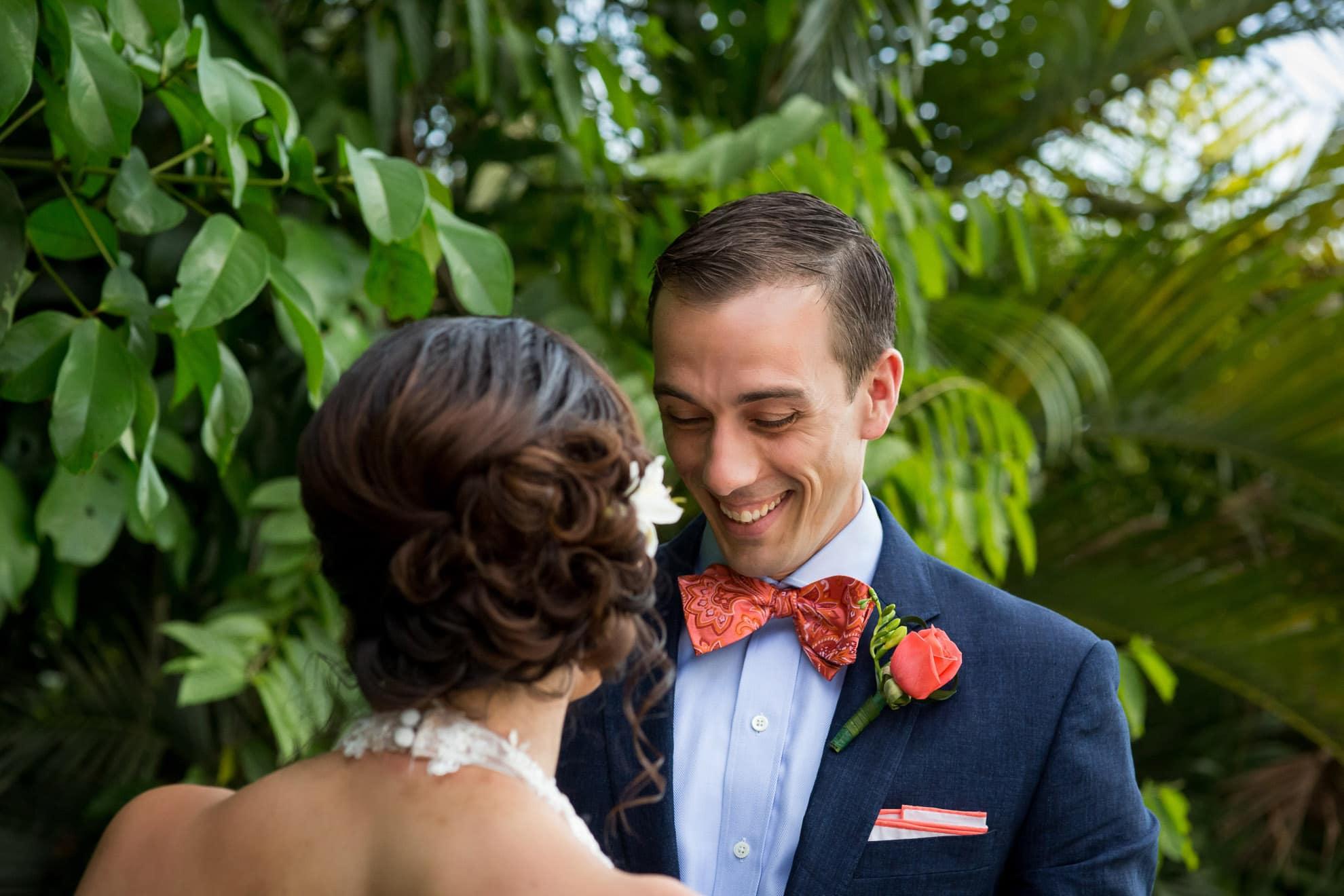 First look at destination garden wedding at Costa Verde