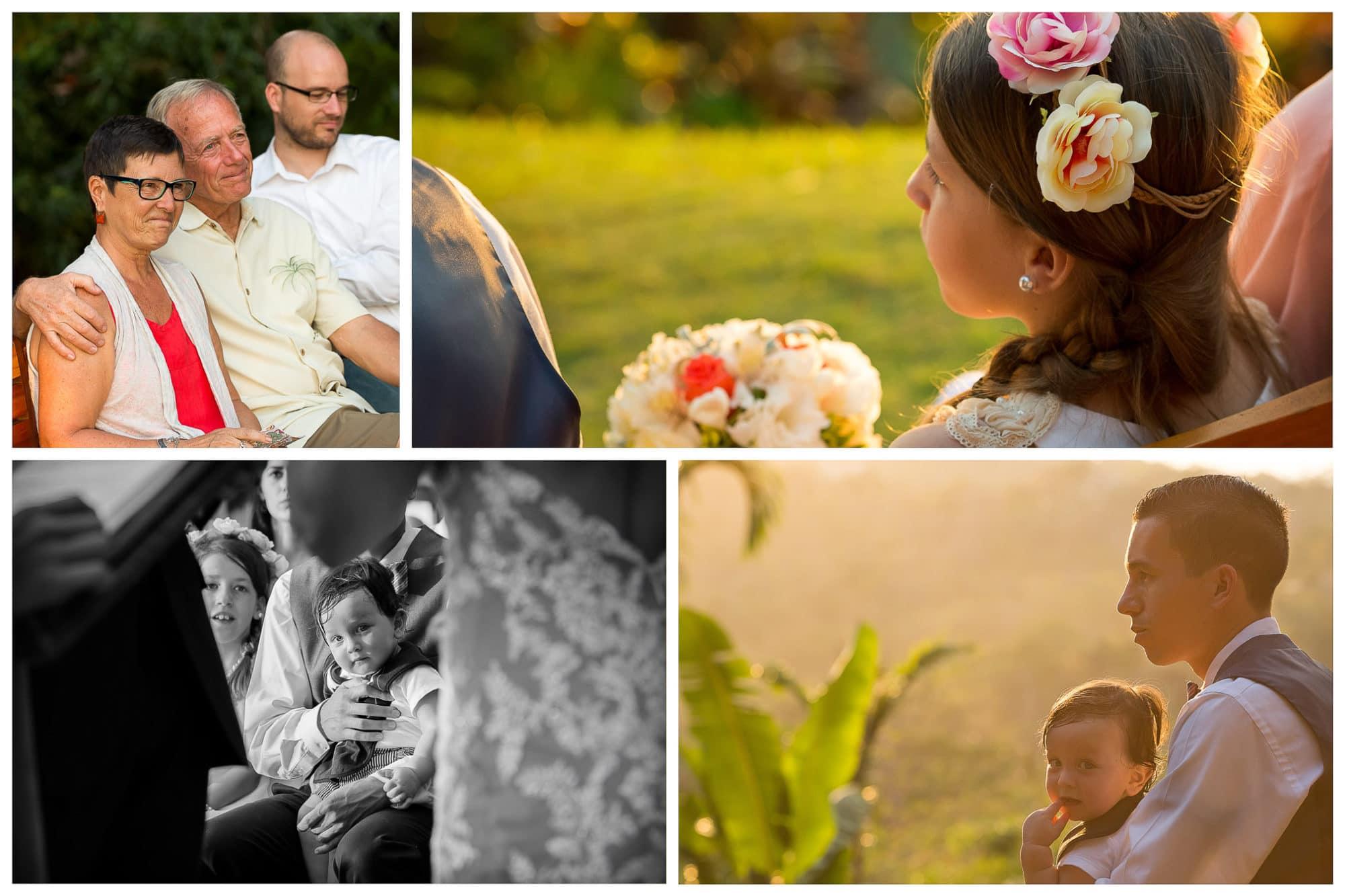Wedding ceremony at Costa Verde