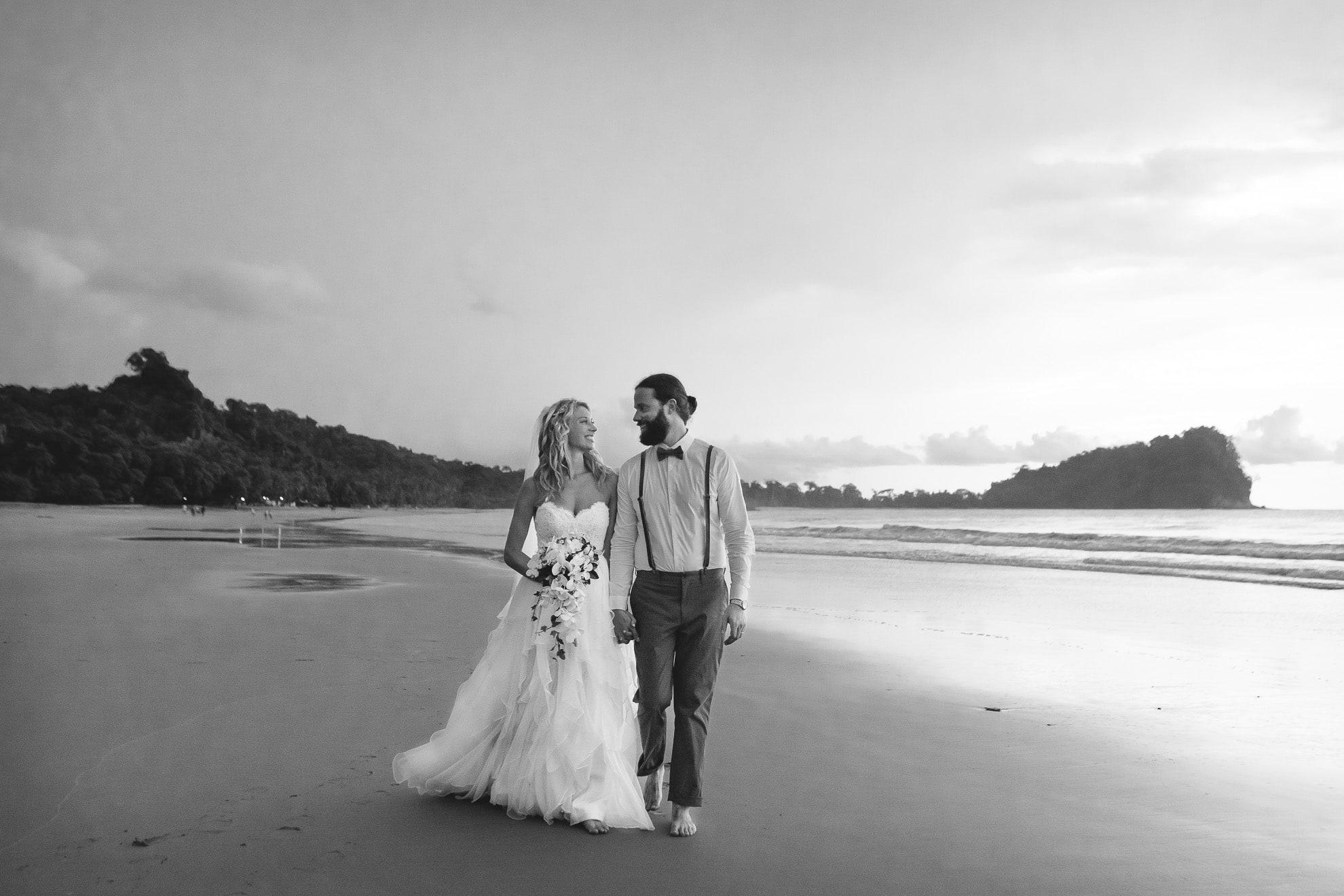 Tropical Beach Wedding at Gaia Hotel