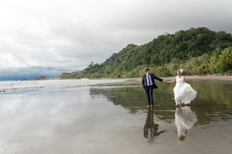 Wedding in Dominicalito, Costa Rica