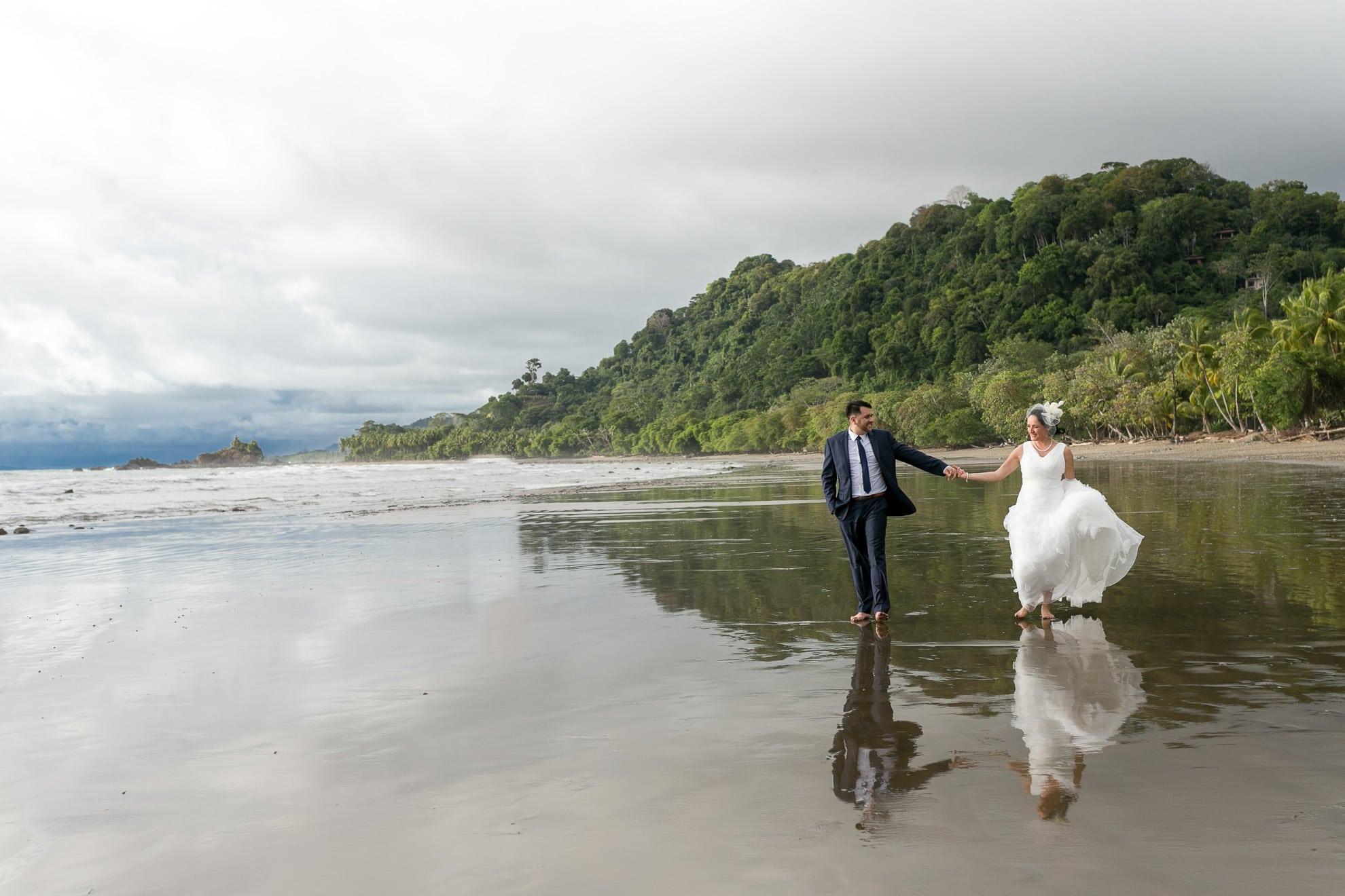 Wedding in Dominicalito, Costa Rica
