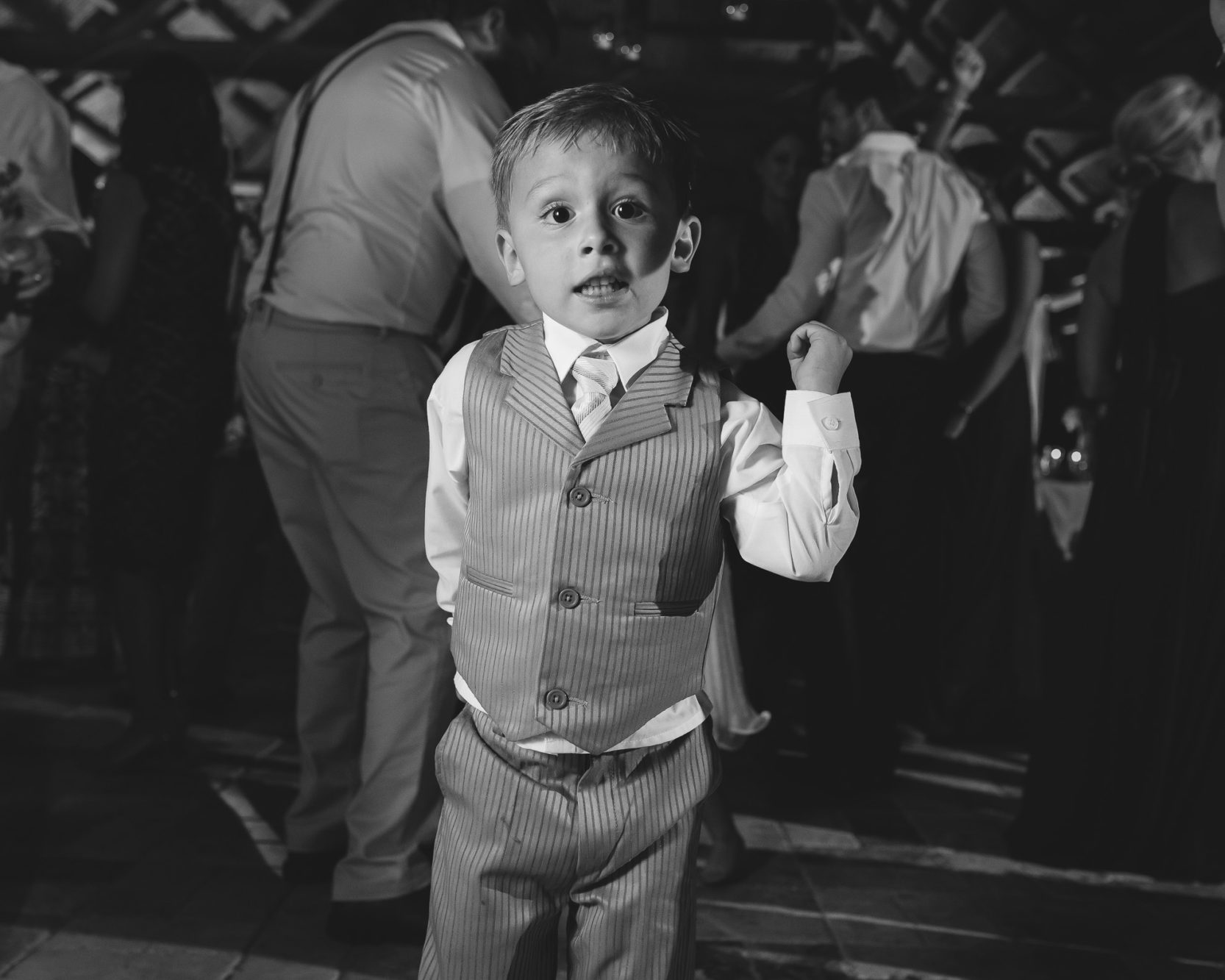 kid on dancefloor