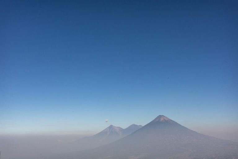 view from pacaya volcan